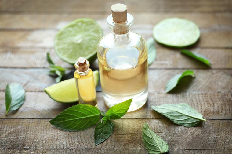 Natürliches Massageöl selber machen