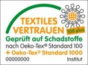 Oeko-Tex 100 plus Standard für nachhaltige Kleidung