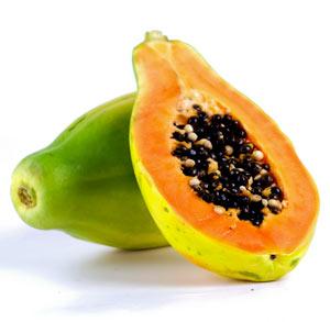 aus der Papayafrucht gewonnenen Enzym
