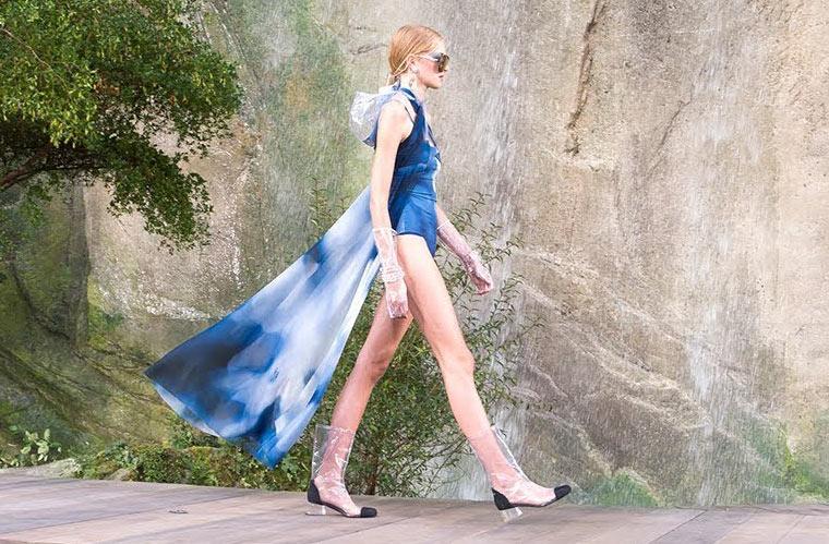Erschreckender Modetrend 2018: Plastik!