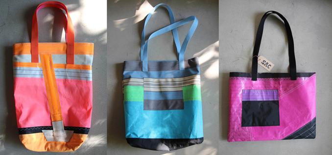 SAC Taschen aus Segeltuch