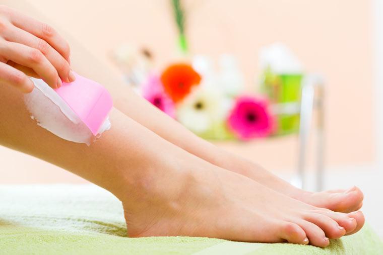 Sanfte Haarentfernung für die sensible Haut
