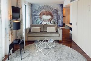 Auch das Hotel am Berliner Potsdamer Platz ist geschmackvoll und nachhaltig eingerichtet. © Scandic Hotels