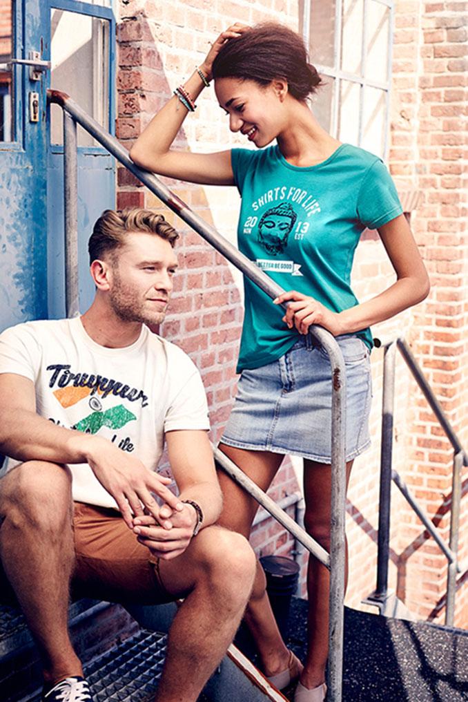 Shirts for Life aus zertifizierter Baumwolle