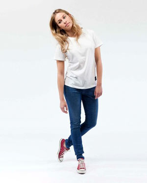 Skinny Jeans Lilly pure blue