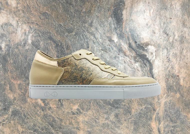 Sneaker aus Stein