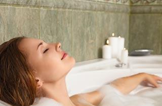 Entspannen und Kraft tanken im eigenen Spa