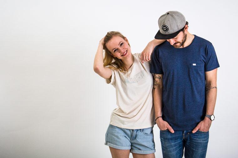 T-Shirts aus Holz: ökologische und umweltfreundliche Kleidung