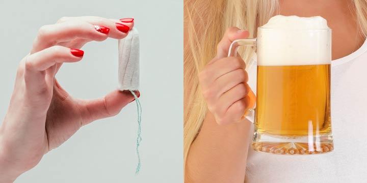 Was Tampons mit Bier zu tun haben: 4 Tipps für einen gesunden Intimbereich