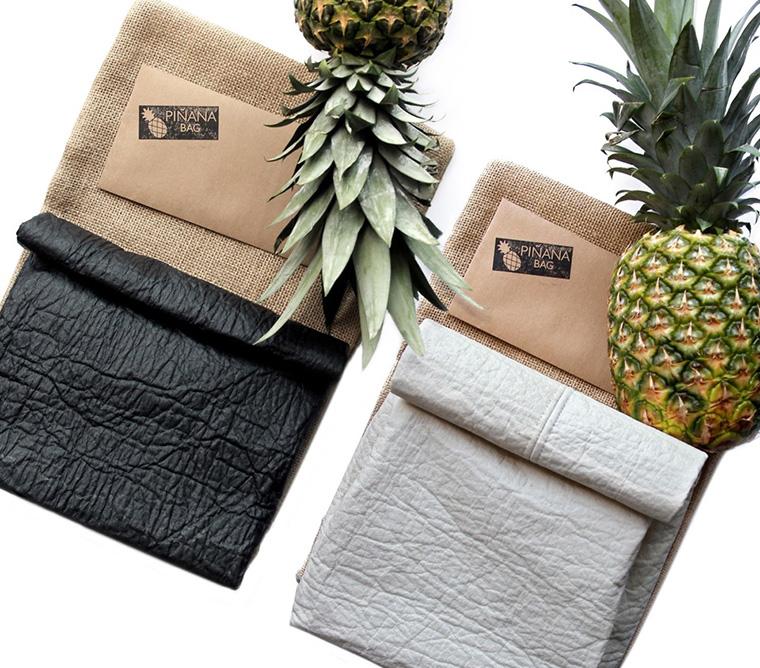 Textilien aus Abfällen der Ananas