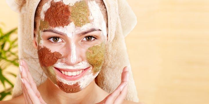 Detox Kur - Mit einer Maske aus Tonerde die Haut entgiften