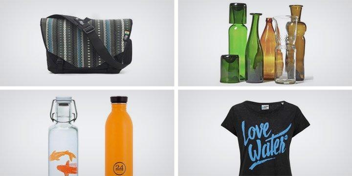 Nachhaltige Marken und Produkte rund ums Thema Wasser