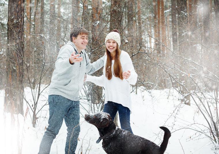 Winterschutz für die Gesichtshaut