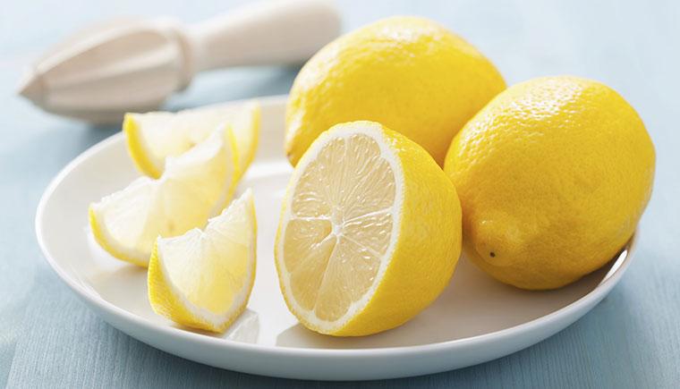 Zitrone ist eine gute Deoalternative