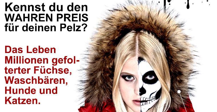 Das Label Tod - Kampagne gegen Echtpelz