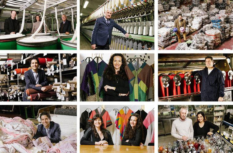 Italienische Textilproduzenten