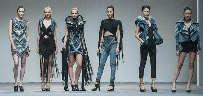 Im Jahr 2013 noch im dystopischen Setting. Doch die Mode ist vielfältig © ecochicdesignaward.com
