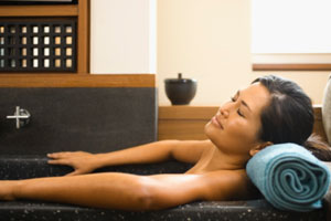 Im Badezimmer relaxen mit Entspannungsbädern von Börlind