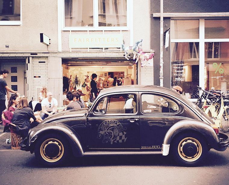 Alternative Mode im Belgischen Viertel