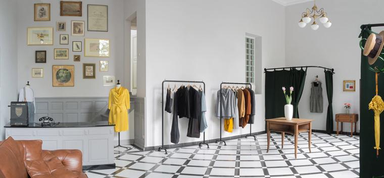 Diese Modedesignerin aus Wiesbaden setzt bei ihren Kollektionen auf Nachhaltigkeit.