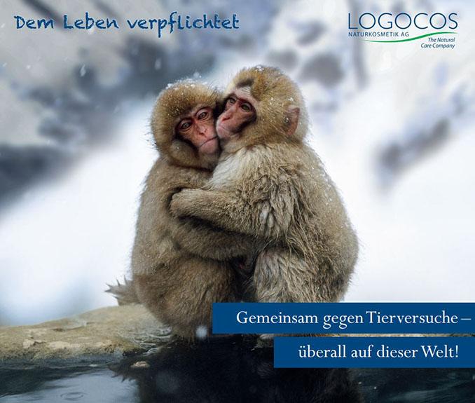 Logocos SANTE - Gemeinsam gegen Tierversuche überall auf dieser Welt! © Logocos