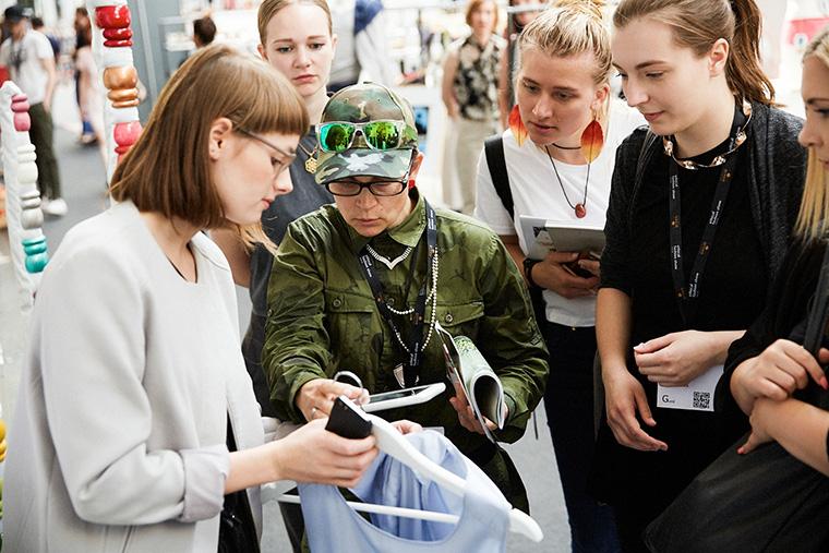 Angeregte Diskussionen auf der Berlin Fashion Week