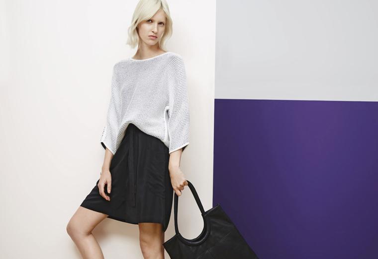 SCHWARZ und WEISS ist der Styling Klassiker ? immer chic, immer passend ob Business Outfit oder eleganter Party Look.