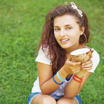 Mit Kokosöl Haut und Haar natürlich pflegen