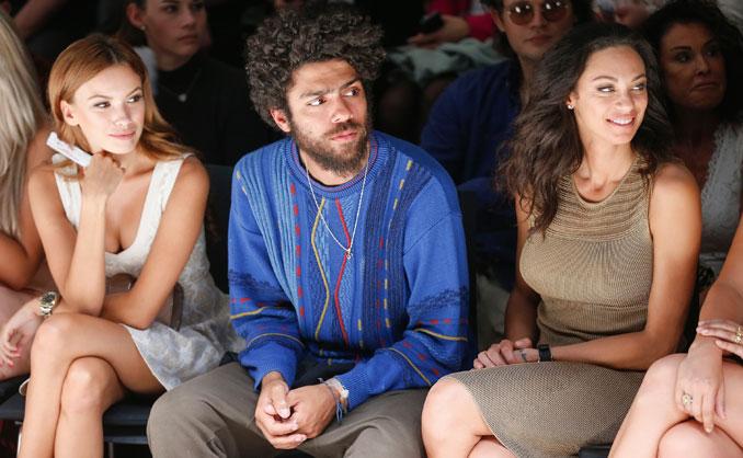 Noah und Lilly Becker beim Lavera Showfloor