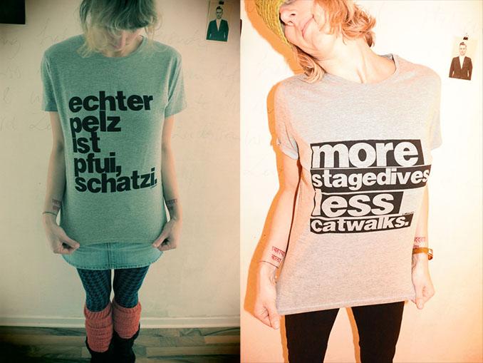 Gar nicht pfui ist dieses schnieke T-Shirt © L'idealista