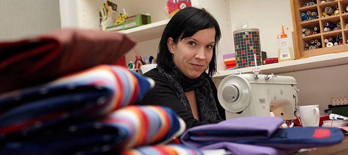 Inga Osberghausen bei der Arbeit. Sie gewährt uns einen Einblick in ihre Arbeit © LuMaRetta