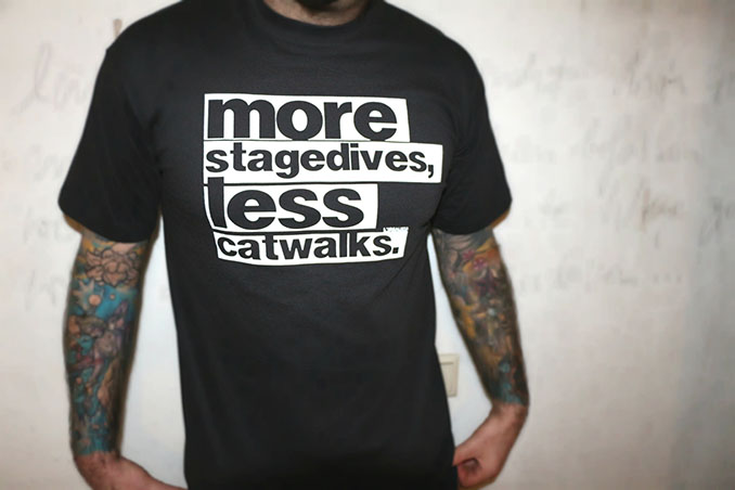 Eine klare Botschaft gegen die Modeindustrie © L'idealista