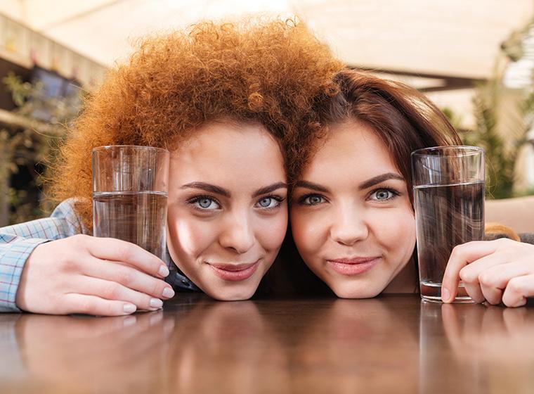 Mineralwasser ist nicht nur zum Trinken da