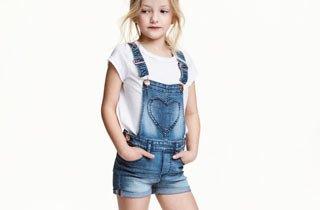 Mädchen-Shorts: superkurz und skinnyfit