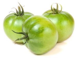 Venenleiden behandeln: Natürliche Hausmittel, wie unreife Tomaten, gegen Besenreiser