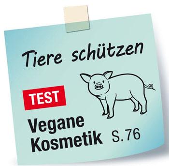 vegane Kosmetik öko-test