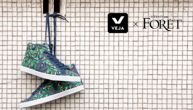 VEJA moabi Sneakers sehen auch an den Füßen sehr lässig aus © VEJA