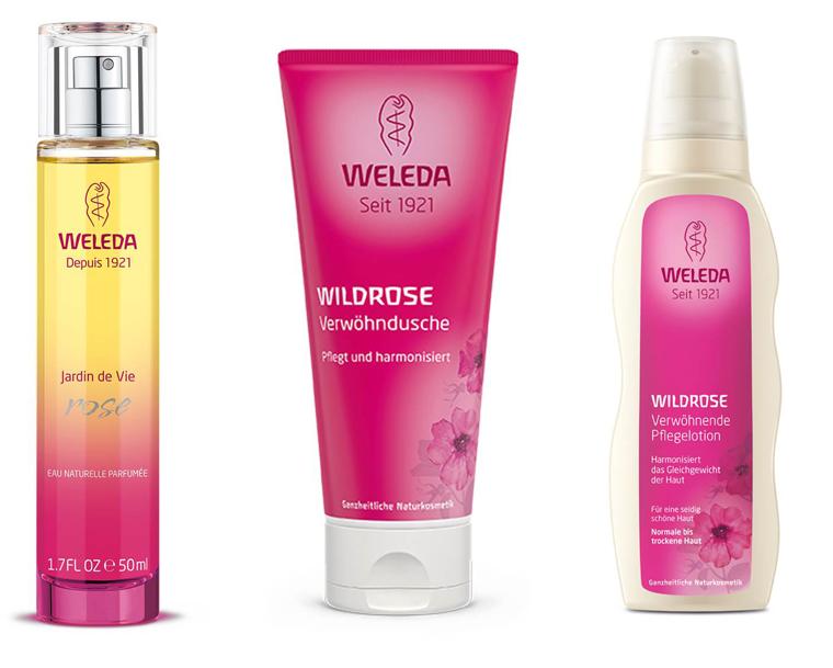 Wir verlosen ein Beauty-Set von Weleda mit dem Wirkstoff der Wildrosen