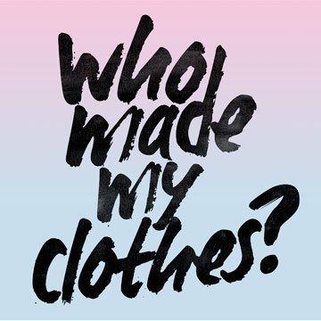 Finde heraus woher deine Kleidung kommt!