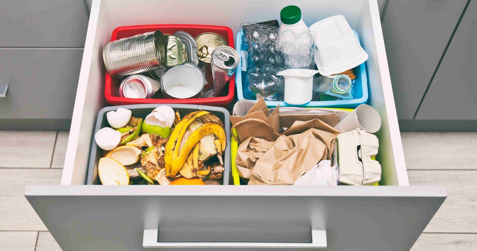 Mülltrennung zuhause