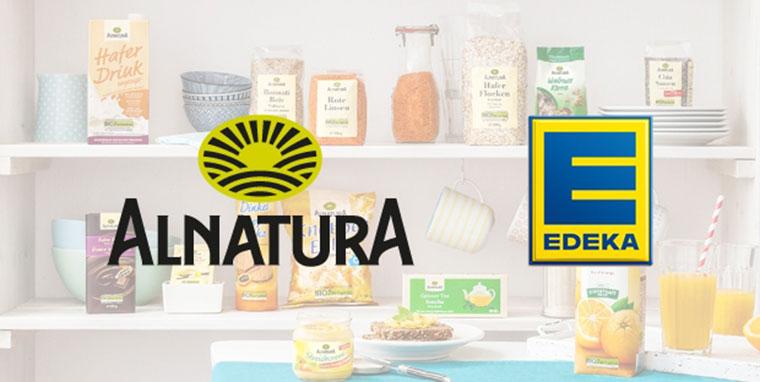 Alnatura und Edeka sind ab sofort Partner