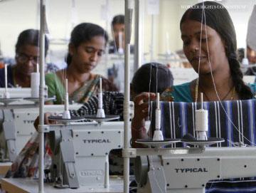 Näherinnen in einer Bekleidungsfabrik © WRC