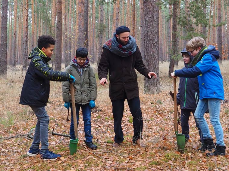 Kiezbett pflanzt 1000 Bäume