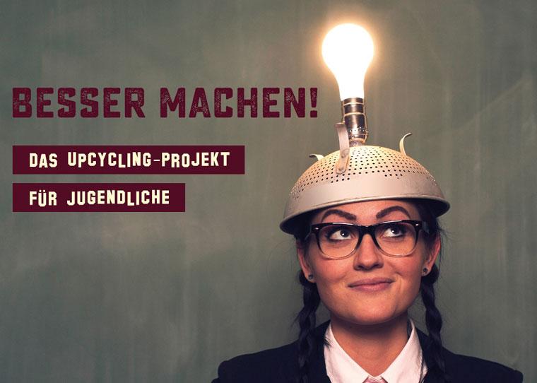 Upcycling-Projekte an Schulen Schüler lernen nachhaltigen Konsum