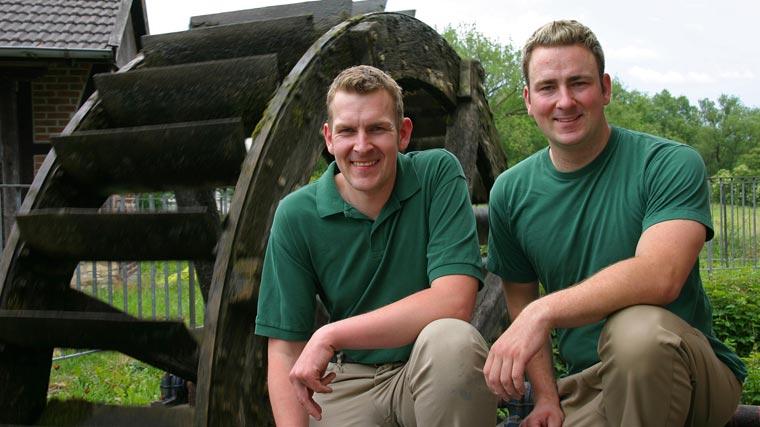 Die Brüder Eiling beteiligen sich mit der Bio-Mühle Eiling an der Qualitätsinitiative ?Bio mit Gesicht?