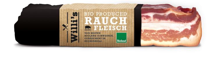 Die ?Willi?s?-Produkte sind nach Bioland-Richtlinien hergestellt und wollen auch optisch überzeugen