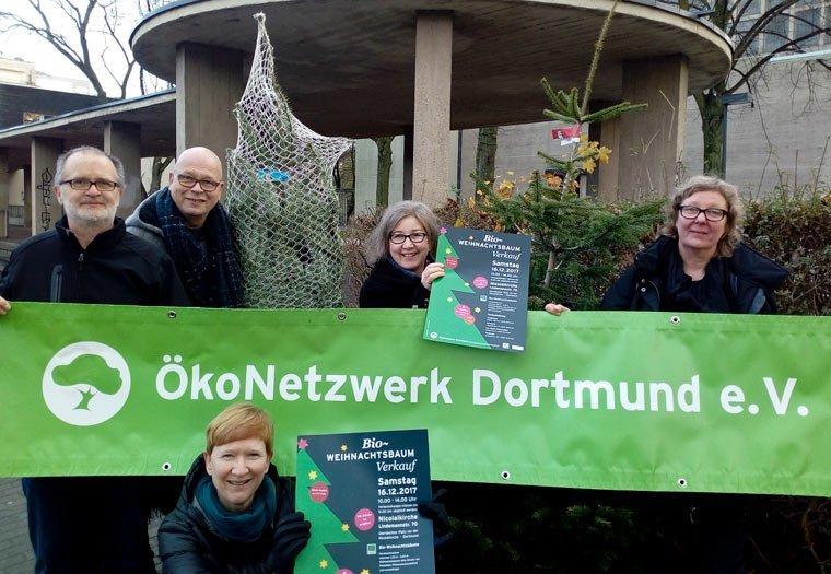 ÖkoNetzwerk Dortmund verkauft auch in diesem Jahr Bioweihnachtsbäume