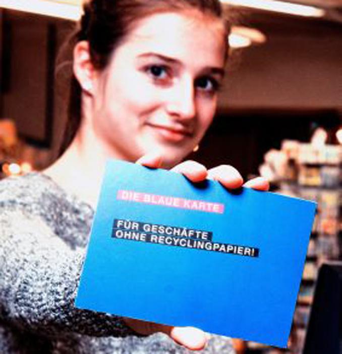 blauer engel schulstart kampagne eco woman