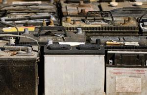 Bleibatterien aus Ghana in Deutschland verwertet