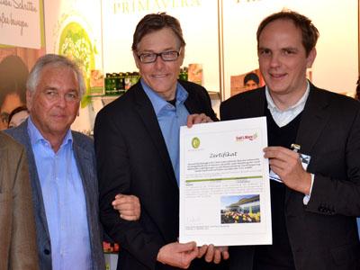 CO 2 Zertifikat Primavera
